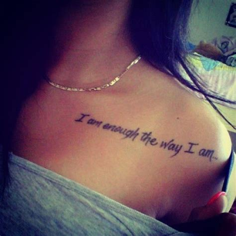 makeup tattoo quotes beauty quote tattoos way of life for girls tattoomagz