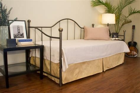 Handmade Metal Beds - doral iron daybed st helena home handmade iron beds