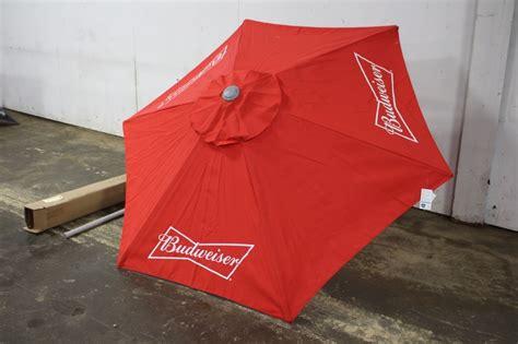 Budweiser Patio Umbrella Budweiser Patio Umbrella Unsued