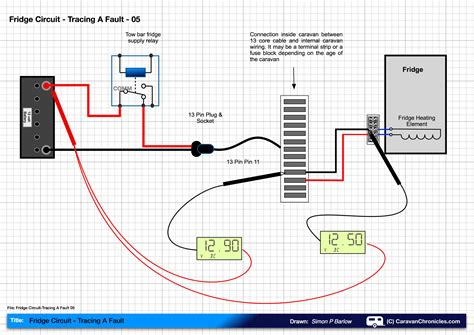 caravan fridge circuit tracing a fault caravan chronicles