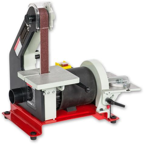 small bench sander axminster hobby series aw130bd2 belt disc sander belt