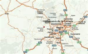 la canada map villanueva de la canada location guide