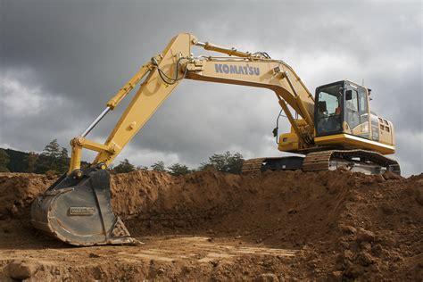 komatsu unveils pc210lci 10 excavator