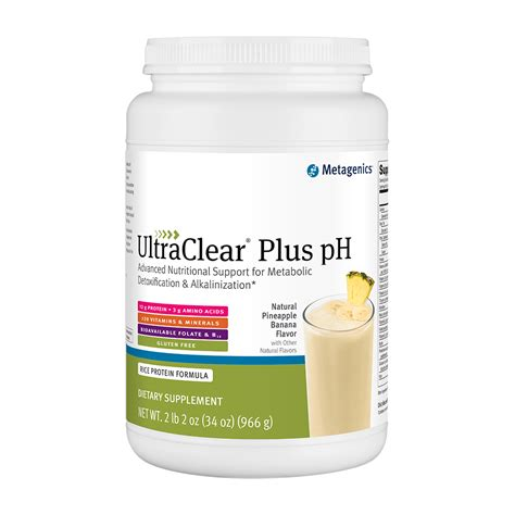 Ultra Clear Plus Detox by Ultraclear Plus Ph Pineapple Banana 34 1 Oz 966 G At