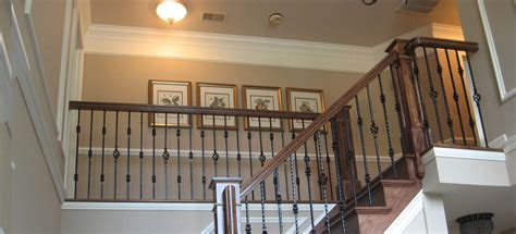 iron shop iron stair rail balusters in maryland dc