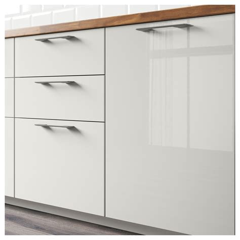 Ikea High Gloss Kitchen Cabinet Doors Ikea Abstrakt Gray Kitchen Cabinet Door Front High Gloss Gray Drawer Fronts Kitchen Design