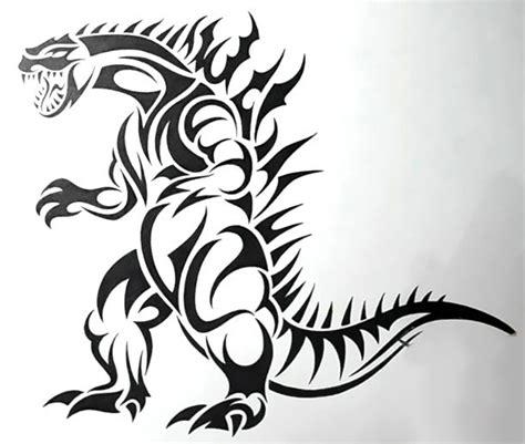 Tribal Dinosaur  Ee  Tattoo Ee   Design