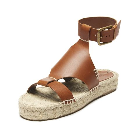 toe shields for sneakers soludos banded shield open toe sandal in brown lyst
