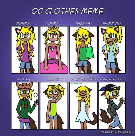 Clothes Meme - clothes meme kura by kuraikomidori on deviantart