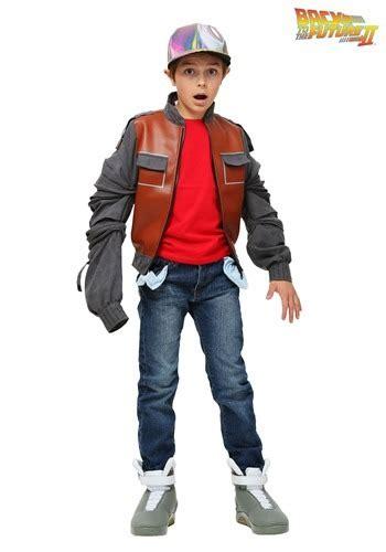 marty mcfly costume jacket  kids     future