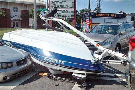 boatus boat value safe driving while towing a boat page 2 trailering