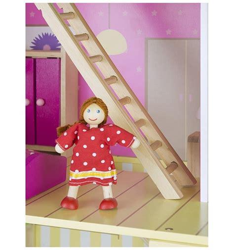 giochi di delle bambole casa delle bambole in legno con bambole e arredamento playset
