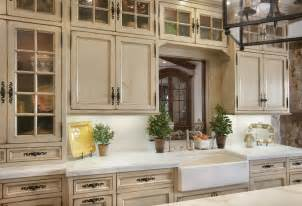 Distressed Kitchen Cabinets Distressed White Kitchen Cabinets Kitchen Mediterranean With Apron Sink Distressed Finish
