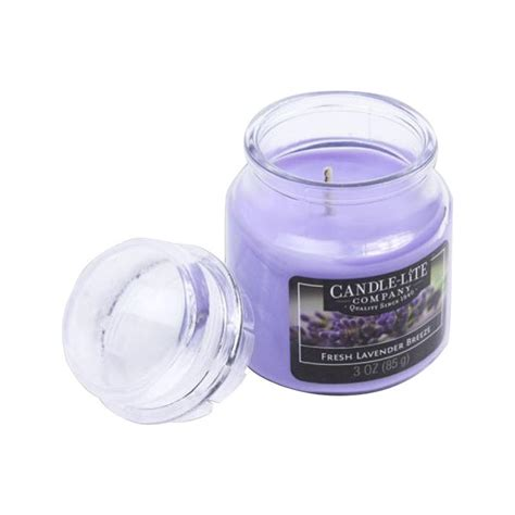 Jual Lilin Aromaterapi Lavender by Jual Candle Lite Fresh Lavender Lilin Aromaterapi 85 G
