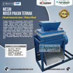 Jual Tepung Roti Pakan Ternak jual mesin mixer pakan ternak model horizontal mixer