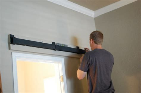 Diy Sliding Barn Door Installing A Sliding Barn Door