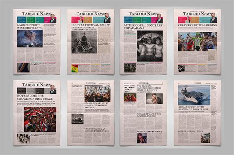 front page templates 12 newspaper front page templates free sle exle