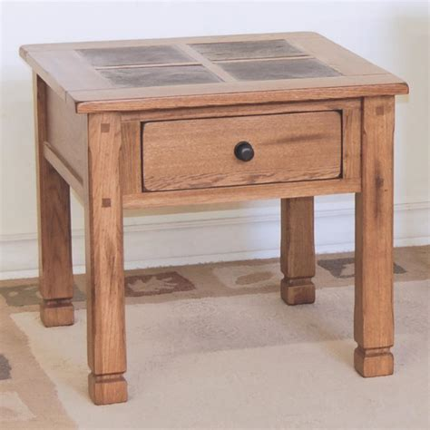slate accent table slate end tables homesfeed