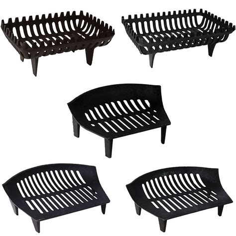 fireplace cast iron grate cast iron grate fireside log basket fireplace holder