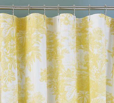 yellow toile curtains home sweet home happilyunperfect