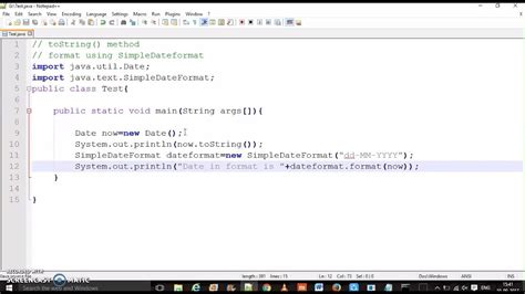 format date using simpledateformat java java date time how to convert date to string hindi
