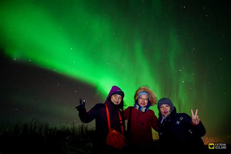 trips to iceland to see northern lights magical auroras northern lights evening trip