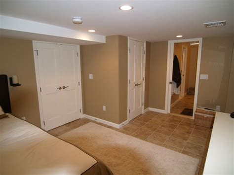 finished basement bedroom ideas capozzi construction inc finished basements photo gallery