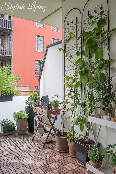 Feuerschale Auf Balkon by Die 25 Besten Ideen Zu Kletterpflanzen Balkon Auf