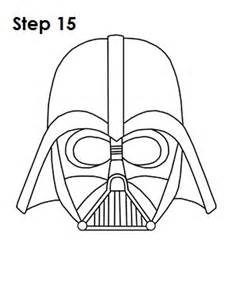 Darth Vader Outline by How To Draw Darth Vader