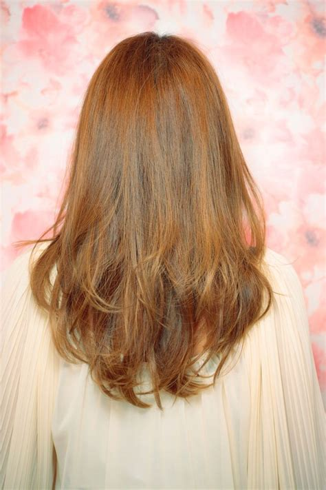layered haircuts for thin hair back view grab a new wonderful look by v shaped layered haircut v