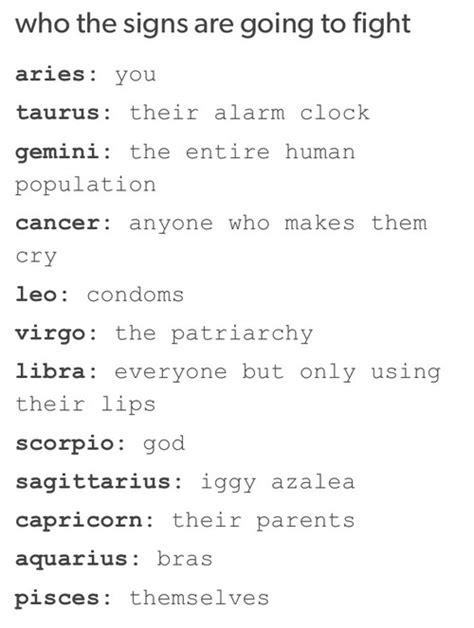 Funny Zodiac Memes - i would definitely fight iggy i would lose but i would