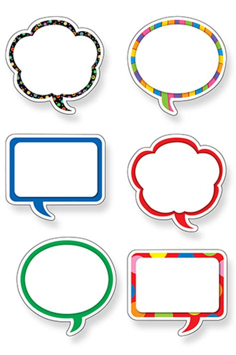 Speech Bubble Printable Clipart Best Speech Bubbles Printable