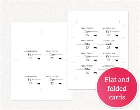 Meal Place Cards Template by Place Cards With Meal Options 183 Wedding Templates And