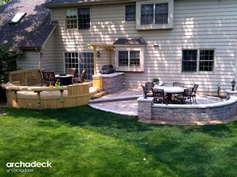 patio or deck how to determine how much space you need for your deck or