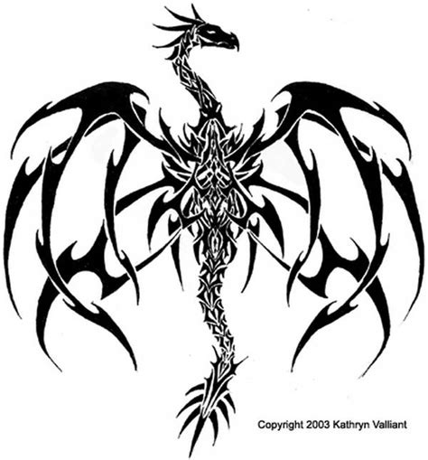 gothic dragon tattoo designs tattoos and designs page 2
