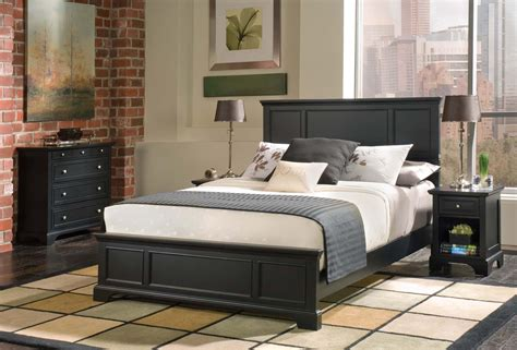 types of bedroom furniture pieces home styles bedford queen bed night stand and chest by
