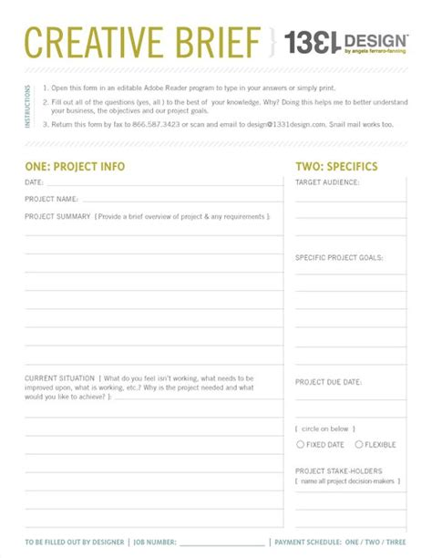 project brief template word my creative process series quot the meeting quot post creative