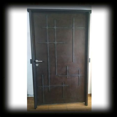 imagenes de puertas minimalistas puerta principal de forja contemporanea 18 500 00 en