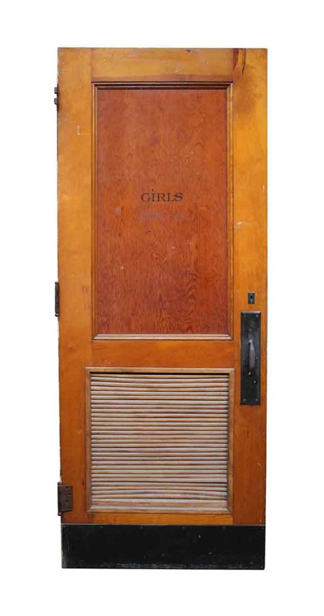 commercial bathroom doors old bathroom door with louvered panel olde good things