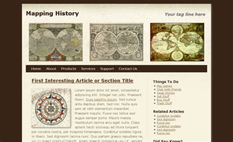 history templates for blogger mappinghistory free html5 template html5xcss3
