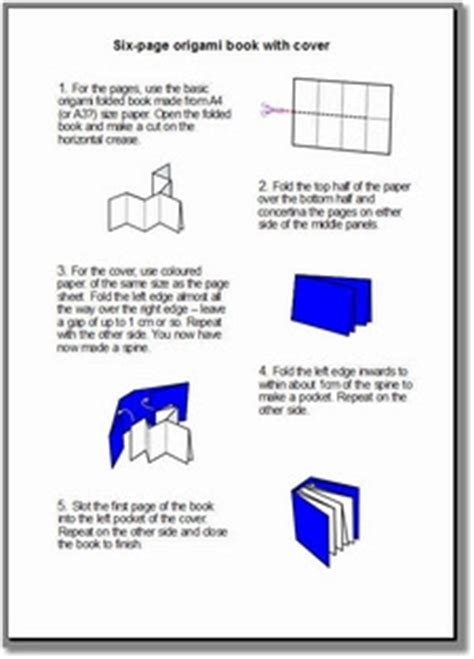 Make An Origami Book - bald worm s marvellous mathematics day origami books