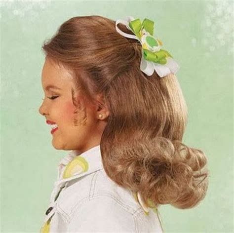 ponytail pageant hair pageant hairstyles for little girls beauty wells and