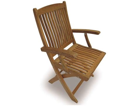 Folding Dining Chair Royal Teak Collection Sailor Folding Dining Arm Chair Sfc