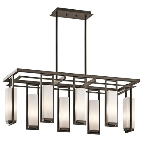 Modern Rectangular Chandelier Kichler Lighting 42935oz Perimeter Modern Contemporary Rectangular Chandelier Kch 42935oz