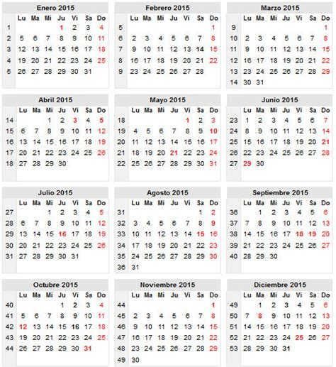 Calendario Colombia 2015 Calendario 2015 Colombia New Calendar Template Site