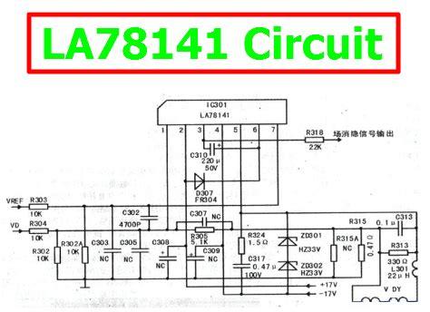 La78141 China data pin la78141 схемы