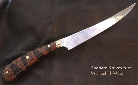 Handmade Fillet Knife - custom handmade knives two palms filet knife