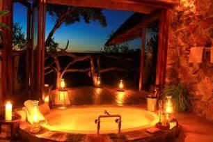 Couples In Bathtubs Outdoor Romantic Bathroom Ideas