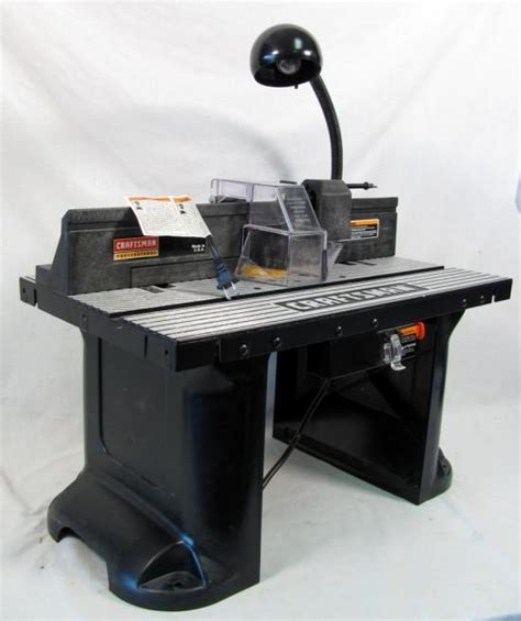 Craftsman Professional Mid Sized Router Table 26462 Ebay Professional Table