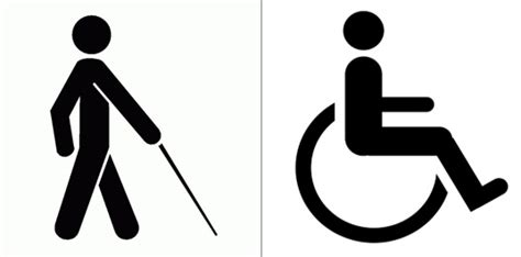Blind Disability disabled sign clipart best